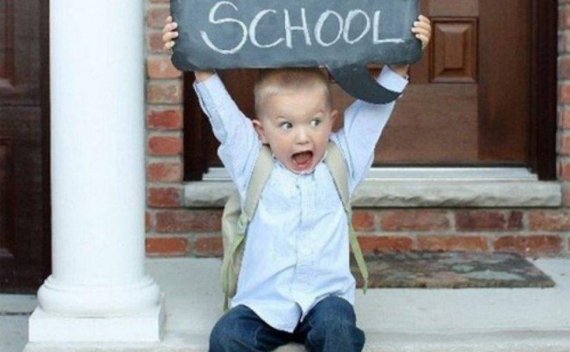 Προετοιμάζομαι για την πρώτη μέρα στο σχολείο!