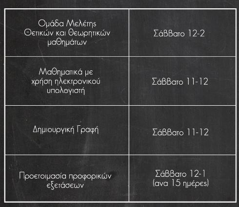 Ομαδικά Προγράμματα -Διαφοροποιημένη διδασκαλία & Ομαδοσυνεργατική διδασκαλία