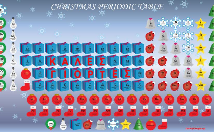 Χημεία και Χριστούγεννα