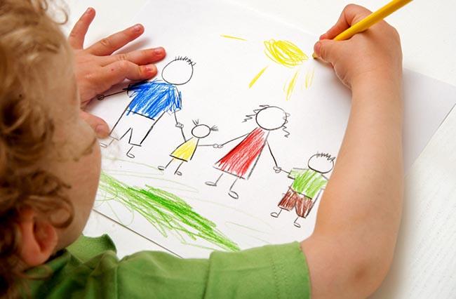 Τι μαθαίνουμε από τις ζωγραφιές των παιδιών